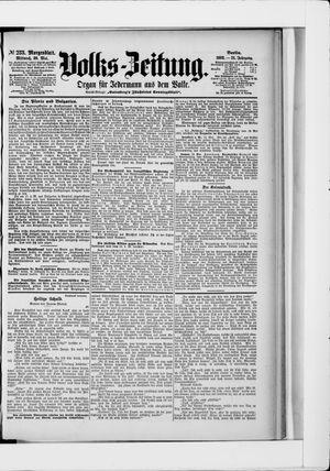 Volks-Zeitung vom 20.05.1903