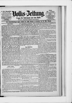 Volks-Zeitung vom 21.05.1903