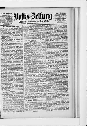 Volks-Zeitung vom 22.05.1903