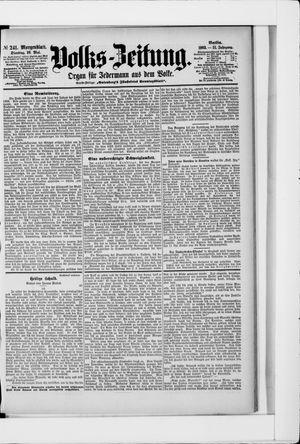 Volks-Zeitung vom 26.05.1903