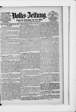 Volks-Zeitung on May 28, 1903