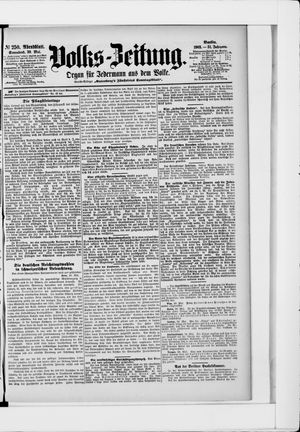 Volks-Zeitung on May 30, 1903