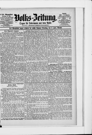 Volks-Zeitung vom 31.05.1903