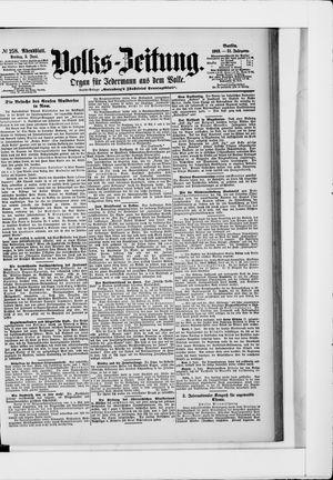 Volks-Zeitung vom 05.06.1903