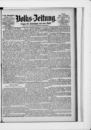 Volks-Zeitung vom 07.06.1903