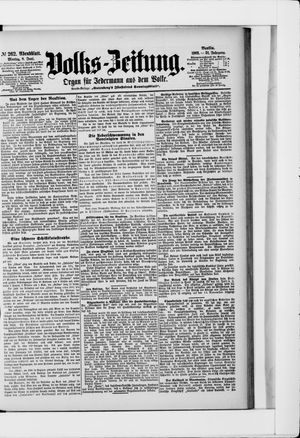 Volks-Zeitung vom 08.06.1903