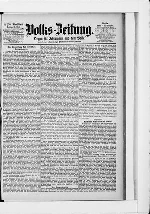 Volks-Zeitung vom 12.06.1903