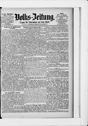 Volks-Zeitung vom 15.06.1903