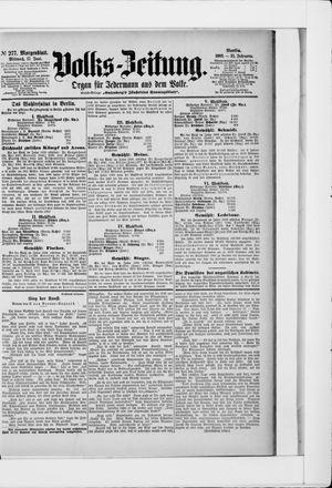 Volks-Zeitung vom 17.06.1903