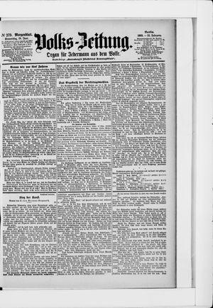 Volks-Zeitung vom 18.06.1903