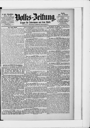 Volks-Zeitung vom 19.06.1903