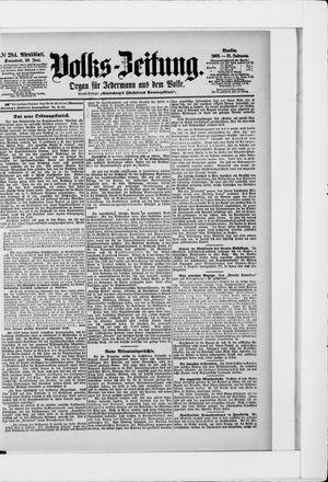 Volks-Zeitung vom 20.06.1903
