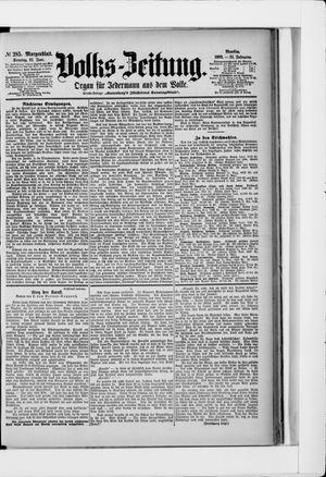 Volks-Zeitung vom 21.06.1903