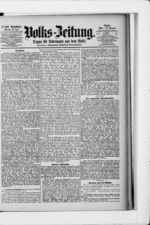 Volks-Zeitung vom 22.06.1903