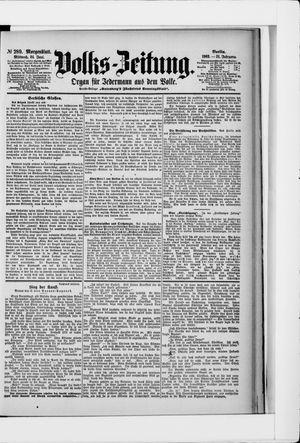 Volks-Zeitung vom 24.06.1903