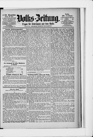 Volks-Zeitung vom 26.06.1903