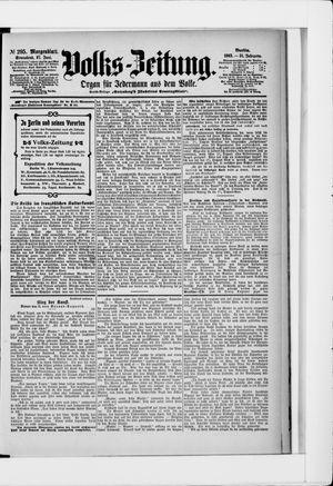 Volks-Zeitung vom 27.06.1903