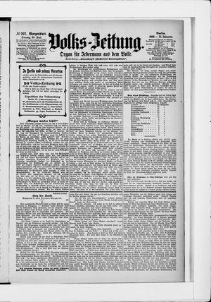 Volks-Zeitung vom 28.06.1903