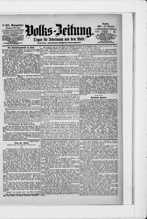 Volks-Zeitung vom 30.06.1903