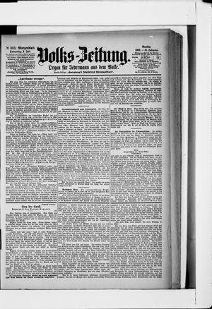 Volks-Zeitung vom 02.07.1903