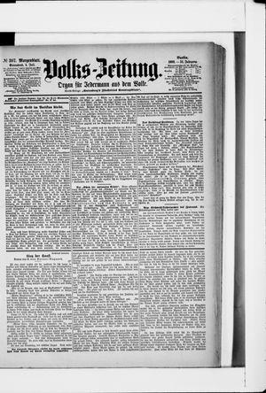 Volks-Zeitung vom 04.07.1903