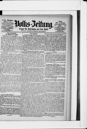 Volks-Zeitung vom 08.07.1903