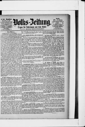 Volks-Zeitung vom 09.07.1903