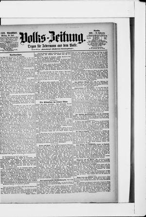Volks-Zeitung vom 13.07.1903