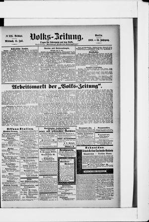 Volks-Zeitung vom 15.07.1903