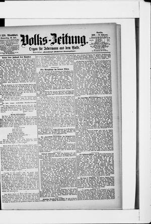 Volks-Zeitung on Jul 16, 1903