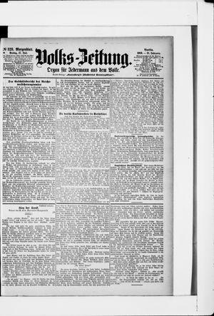 Volks-Zeitung vom 17.07.1903