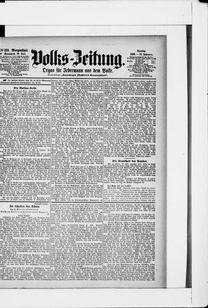 Volks-Zeitung vom 18.07.1903