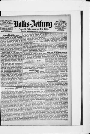 Volks-Zeitung on Jul 19, 1903