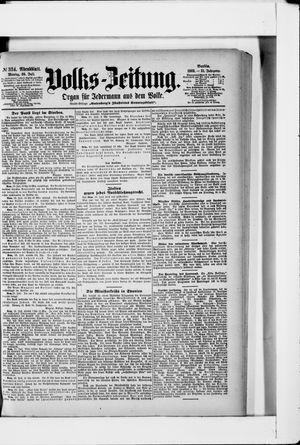 Volks-Zeitung vom 20.07.1903