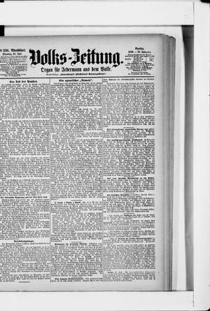 Volks-Zeitung vom 21.07.1903
