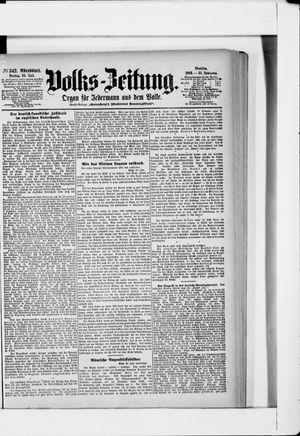 Volks-Zeitung vom 24.07.1903