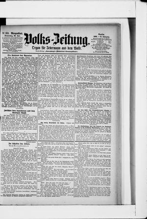 Volks-Zeitung vom 30.07.1903