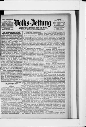 Volks-Zeitung vom 31.07.1903