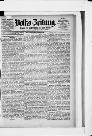 Volks-Zeitung vom 01.08.1903