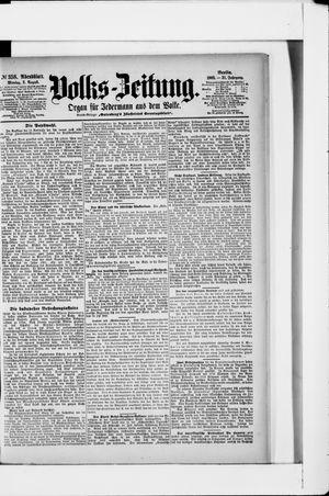 Volks-Zeitung vom 03.08.1903
