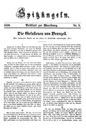 Spitzkugeln vom 29.11.1850