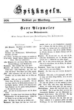 Spitzkugeln vom 13.12.1850