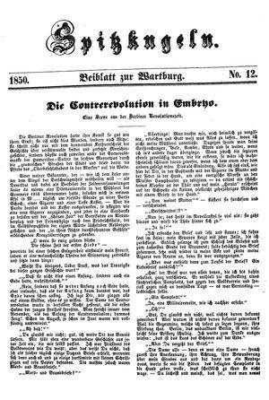 Spitzkugeln vom 27.12.1850