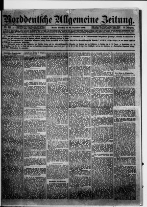 Norddeutsche allgemeine Zeitung vom 31.12.1878
