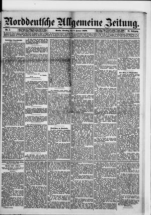 Norddeutsche allgemeine Zeitung vom 07.01.1879