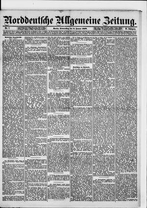 Norddeutsche allgemeine Zeitung vom 09.01.1879