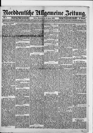 Norddeutsche allgemeine Zeitung on Jan 11, 1879