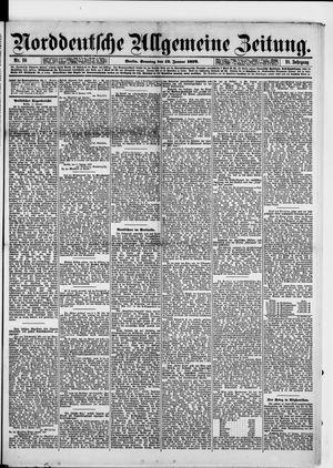 Norddeutsche allgemeine Zeitung vom 12.01.1879