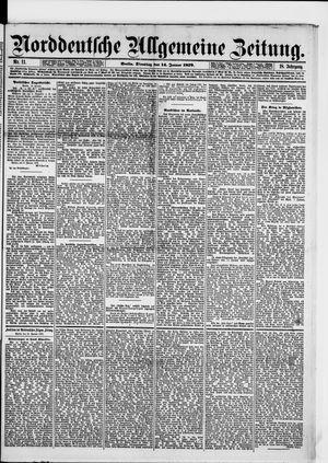 Norddeutsche allgemeine Zeitung vom 14.01.1879