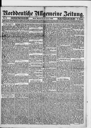 Norddeutsche allgemeine Zeitung vom 15.01.1879